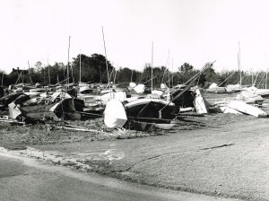 Bewl Water after 1987 storm