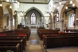 Interior - Wadhurst Parish Church
